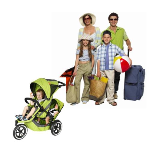 поездка с детьми и багажом