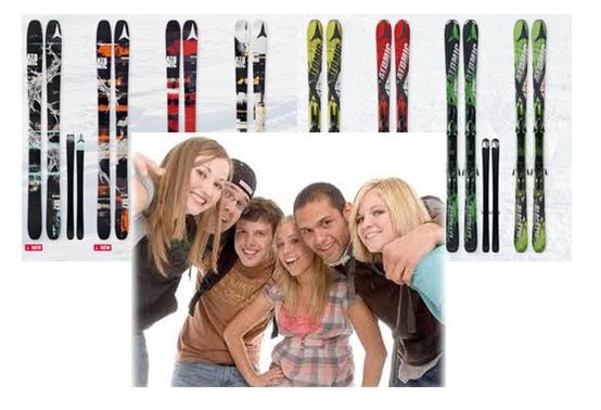 как добраться до отеля большой компании с лыжами