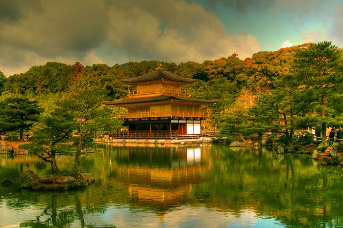 Золотой павильон. Япония