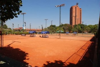 Фото отеля Resort Yacht Y Golf Club Paraguayo - Tennis Court