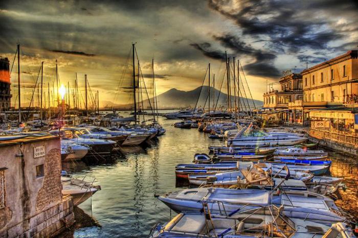 Старый порт Неаполя