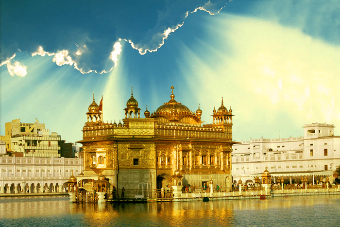 Золотой храм. Индия