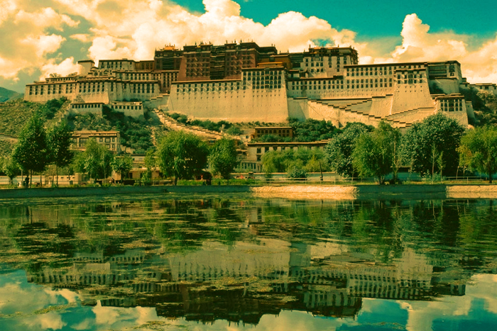 Дворец Потала. Тибет