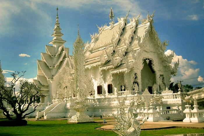 Белый храм. Таиланд,